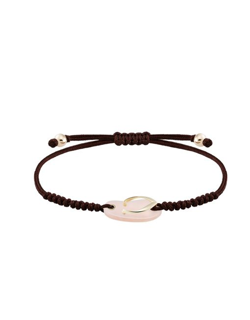 Shankla sweet pink yellow gold bracelet