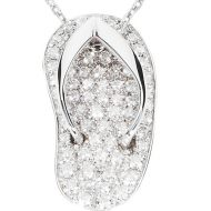 White Gold Exclusive Shankla with brilliant cut diamonds