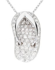 White Gold Exclusive Shankla with brilliant cut diamonds